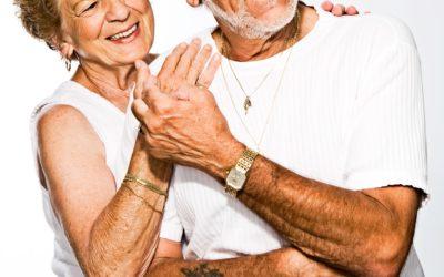 Older people, younger souls.